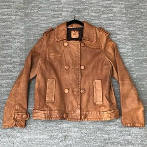 Women's Banana Republic 100% leather jacket